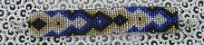 "NEW~Southwestern Hand Woven Glass Seed Bead Bracelet 1"" Wide ~NEW ~ Item #T1100"