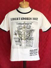 Sc Corinthian's Brazil Paulista Libertadores 2012 T-shirt Jersey soccer futbol