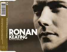 RONAN KEATNG WHEN YOU SAY NOTHING AT ALL UK 4 TRACK CD SINGLE INC VIDEO FREE P&P