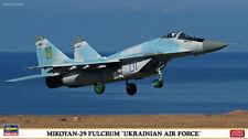 "Hasegawa 02118 - 1/72 Mikoyan-29 Fulcrum ""Ukrainian Air Force"" - Neu"