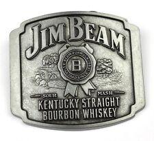 Jim Beam bourbon whiskey estados unidos belt buckle metal adorno en la cintura kentucky Straight