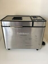 New listing Cuisinart Convection Bread Maker Machine 2-lb Cbk-200ws Stainless Steel - Euc