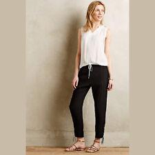 Anthropologie Vanessa Bruno Athe Womens Pants Size 4 Black Crops Clovis New 1005