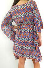 Geometric Short Casual Shirt Dresses