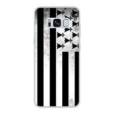 Coque Housse Etui Samsung Galaxy S8 silicone gel motif Drapeau Bretagne