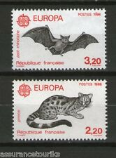FRANCE ANIMAUX - 1986 YT 2416 à 2417 - TIMBRES NEUFS** LUXE