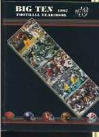 1987 Big Ten Football Yearbook   MBX48