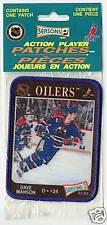 1992 DAVE MANSON EDMONTON OILERS NHL HOCKEY PATCH