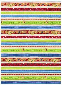 It's A Dog's Life Tan Doggie Lease Stripe Fabric bty PRICE REDUCED