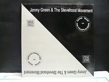 "MAXI 12"" JIMMY GREEN & THE STEVEHOOD MOVEMENT The love train SHS M 201"