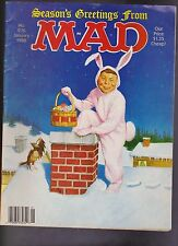 "Vintage ""MAD"" Magazine #276 January 1988 Alfred E Neuman BB"