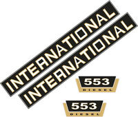 553 Decal Set Stickers for International 553 IHC, Tractor, Tractor