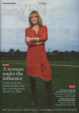 Linda Gray on Magazine Cover September 2012