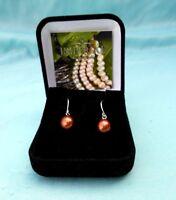 Nuevo en Caja Plata de Ley Estampada Original Imperial Perla Golden Pearl