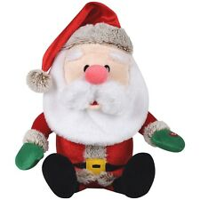 GEMMY SINGING Tutti Frutti SANTA Shaking Head Mustache Wiggler Santa SHIPS TODAY