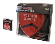 Red Shield Dummy Alarm Siren with Security Decal Pack.