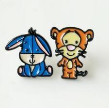 2pcs Disney tigger eeyore stand metal earring ear stud earrings studs manga