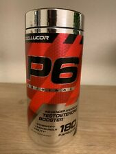 Cellucor P6 Original Ergogenic Testosterone Booster - 180 Capsules stamina