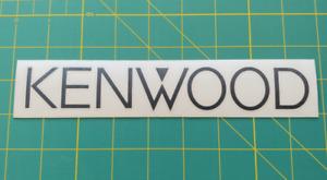 Kenwood Decal - Vinyl Sticker - Pro Audio Mobile Speakers Subwoofer - Racing JDM