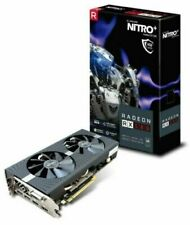 SAPPHIRE Nitro + Radeon RX 580 RGB 4GB GDDR5 Freesync Graphics Card PC Computer