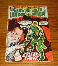Green Lantern # 83 Neal Adams Green Arrow, 1971 DC Comics, Denny O'Neil