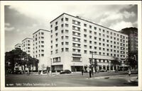 Washington DC Hotel Statler Real Photo Postcard