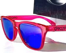 NEW* Oakley Frogskins Acid PINK w POLARIZED VIOLET Iridium Sunglass 9013