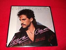 EVAN ROGERS ~ LOVE GAMES  LP  MINT/ NEVER PLAYED ( DUET WITH EVELYN CHAMP. KING)