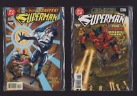 DC comics. 1997 SUPERMAN #128 #129 c1.416