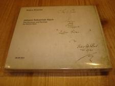GIDON KREMER Bach Sonatas and Partitas for Violin Solo ECM 2 CD Signed Signiert