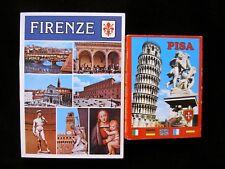 FLORENZ und PISA 2 Bildserien Faltbuch je 50 Bilder 80er J.