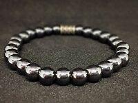 Hämatit Hematit Armband Bracelet Perlenarmband Buddha