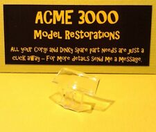 Dinky 113 MGB Sports Car Reproduction Repro Clear Plastic Wind Screen Windshield