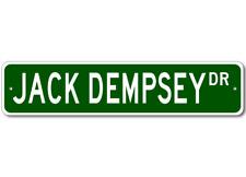 JACK DEMPSEY - Fishing - High Quality Aluminum Fish Street Sign