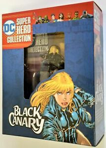 DC Super Hero Collection Black Canary 1/21 Figurine Eaglemoss