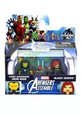 Marvel Minimates Dark Avengers Iron Man & Black Widow Walgreens Exclusive Wave 2