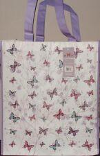 Butterfly Print Shopping Bag