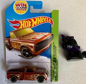 Hot Wheels 2014 HW Workshop #217 Custom '69 Chevy Pickup