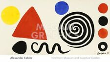 Abstraction, 1966 by Alexander Calder Art Print Abstract Museum Poster 18x32