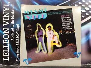 Miami Vice Original Soundtrack LP Album Vinyl Record MCA6150 TV Film 80's Don