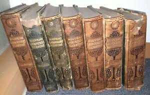 Nouveau larousse illustré 7 volumes- Claude Augé
