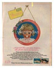 1978 DOCUMENT  (ref Cim  AL081)  PUB   : POUPEE RAYNAL TINNIE  1page