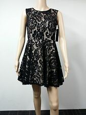NEW FAST to AUS - Betsy & Adam - Size 4P - Sleeveless Lace Dress - Black - $179