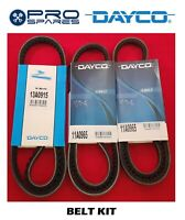 DAYCO Fan Belt Kit suits Mitsubishi Pajero 4M41T NM NP NS NT NW NX 05/02 on