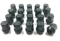20 x ALLOY WHEEL NUTS BLACK FOR FORD MONDEO  M12 X 1.5 19MM  BOLTS STUDS LUG (3)