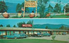 Canada Gaspé Quebec Anna Mabel Motel AAA CAA Vintage 1960s Era PC Rare