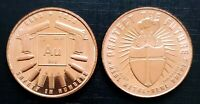 Guns & Gold - 1oz. Pure Copper Bullion Round!!