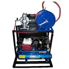 Asphalt Sealcoating Spray System & Accessories - 325 Gallon - Hand Agitated