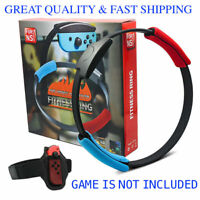 For Nintendo Switch Ring Fit Adventure Fitness  ⭐Ring-Con & Strap