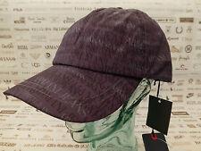 ARMANI JEANS Baseball Cap A6417 Multi Logo Hat Size lll/L Sport Caps BNWT RRP£75